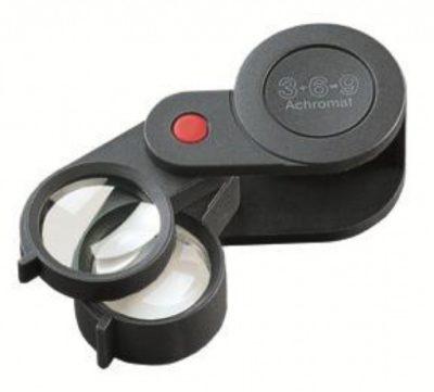 Folding Magnifier 3+6x Achromatic