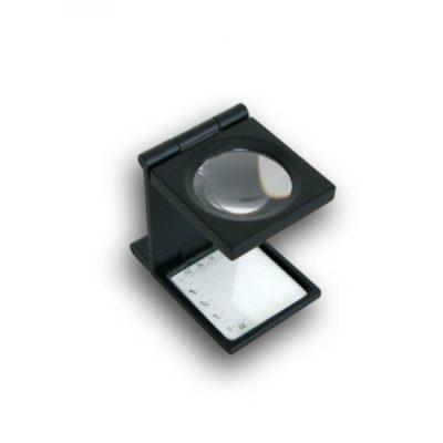 Precision Metal Linen 6x Magnifer w/scale