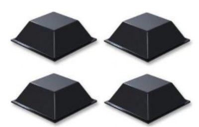 Set Of 4 Self Sticking Rubber Feet