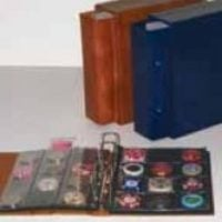 Compact Album For Poker Chips