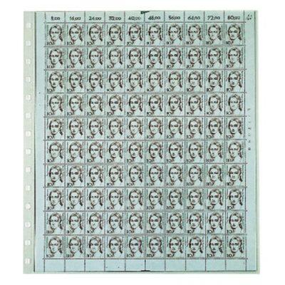 Mint Sheet Full Page Per 10