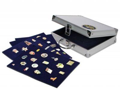 Pin Trading Bag - Aluminum Case