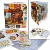 Beer Coaster Album for 80 Coasters