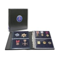 Premium Collecto Album For Military Medals & Pins
