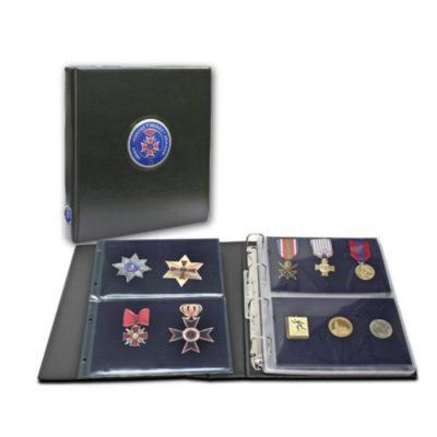 Premium Collecto Album For Military Medals & Pins