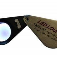 10x UV and LED Loupe