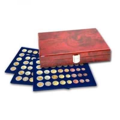 "Coin Case ""Premium"" For 15 Euro Sets In Capsules"