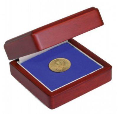 Wood Coin Display Boxes - Medium
