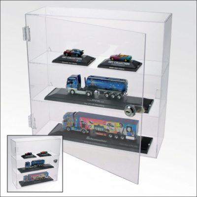 Hot Wheels Acrylic Lockable Curio Cabinet
