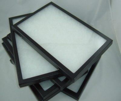 "Riker Mount Leather Display Case 14-1/2"" x 7-3/4"""