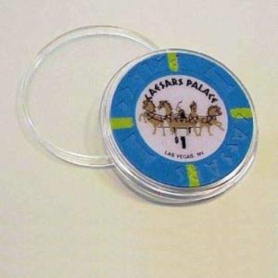 Poker Chip 39mm Capsule per 5