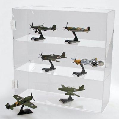 Figurine Lockable Acrylic Display Case-Large