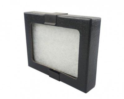 "Riker Mount Leather Display Case 4-1/4"" x 3-1/4"""