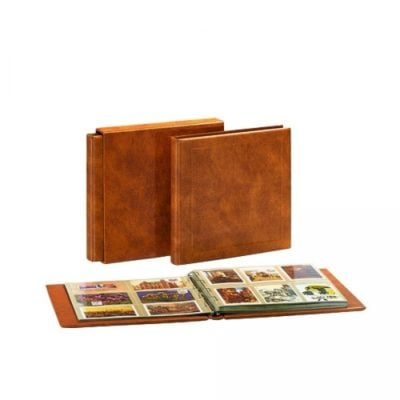 Luxus Maxi Postcard Album with 10 Heavyweight Double-Sided Pages