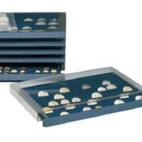 Coin Collection Storage Drawer w/40 Compartments for Morgan Dollars