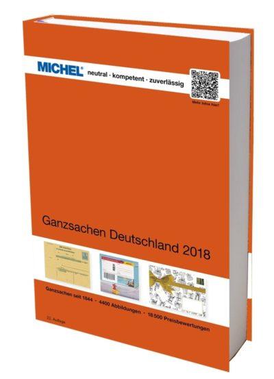 Michel Ganzsachen Germany 2018