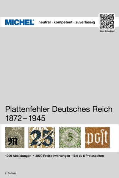 Michel Deutsches Reich Plate Flaws 1872-1945