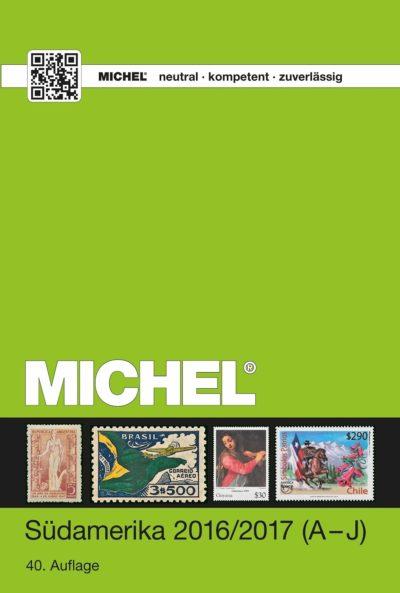 Michel South America 2016/17 Vol 1 (A-J)
