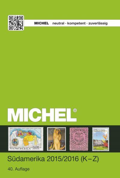 Michel South America 2016/17 Vol 2 (K-Z)