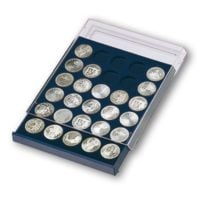 "Stackable Coin Storage Drawer for Silver Eagles w/20 Compartments (1-19/32"")"