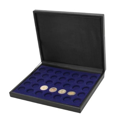 Leather Coin Case for 6 Medals/Coins up to 62mm