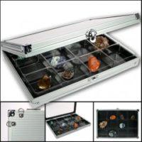Aluminum Display Cases Small