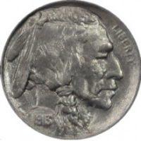 Nickels Buffalo & Jefferson