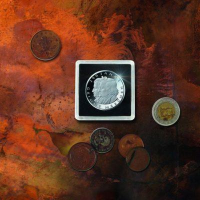 Quadrum 2x2 Intercept Coin Holders 21mm Pkg of 6