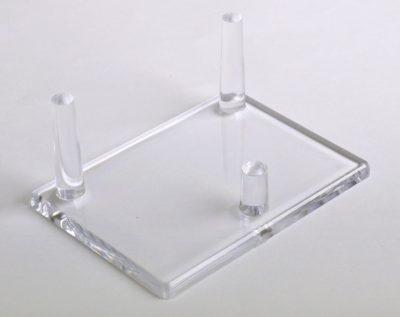 "Mineral Display Stands-Three Peg Stand-Medium 2"""
