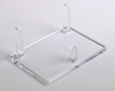 Mineral Display Stands-Three Peg Stand