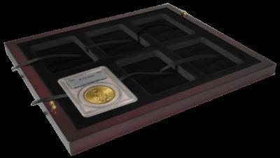 Coin Slab Trays for 12 Slab Case