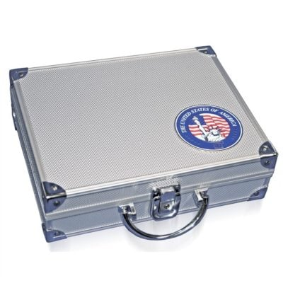 Aluminum Coin Case for State Quarters & National Park Quarters