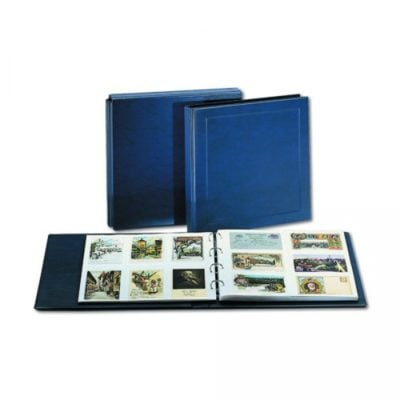 Maxi Continental Postcard Album Value Package with 10 Double Sided Pages