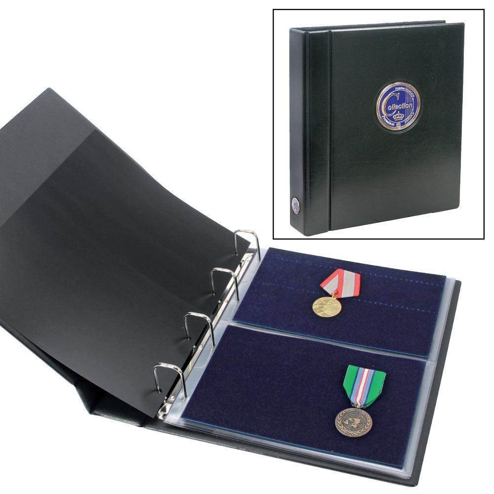 Premium Album for Military Medals & Pins