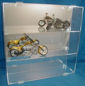 Rock Collection Display Case Acrylic Glass Curio 12-1/2""