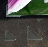 Small Corner Mounts - Archival Corners Self Adhesive