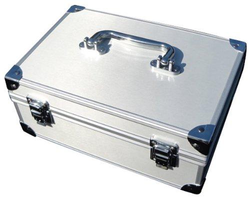Aluminum Coin Slab Case for 30 Slabs Closed