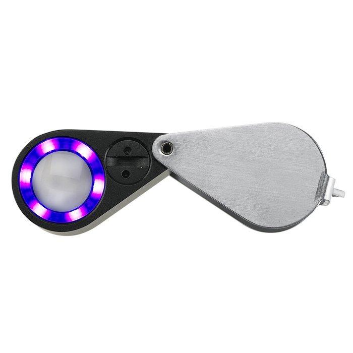 UV and LED Loupe